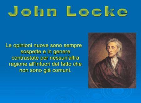 Il John Locke filosofo