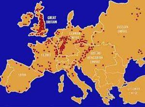 L'industrializzazione in Europa