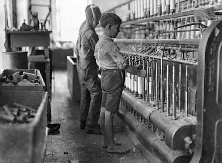La prima legge sul lavoro minorile