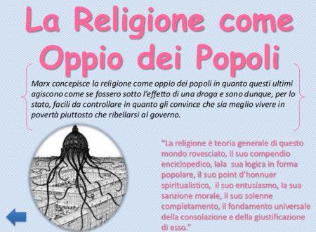 L'opinione di Marx sulla funzione della religione