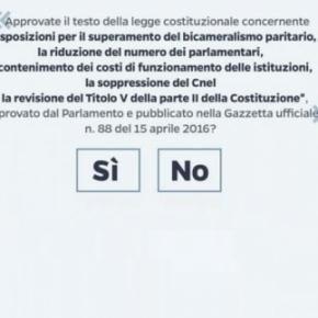 Il referendum costituzionale del 4 dicembre