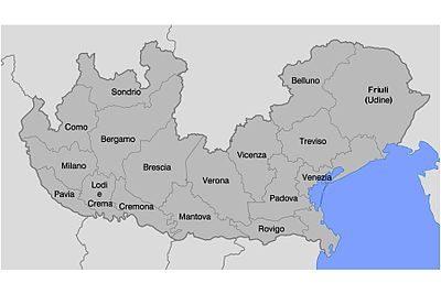 La Restaurazione in Italia: il lombardo-veneto