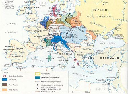 L'assetto dell'Europa dopo il Congresso: parte I