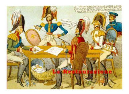 L'Europa dopo la sconfitta di Napoleone