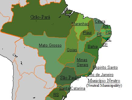 L'indipendenza del Brasile dalla madrepatria