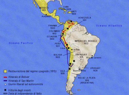 America Latina: indipendenza senza decolonizzazione