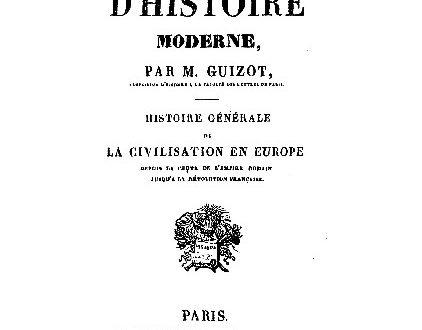 Guizot: la borghesia come fonte del progresso