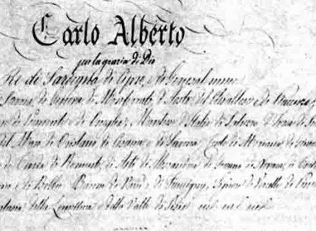 Lo statuto del regno di Sardegna (Statuto albertino)