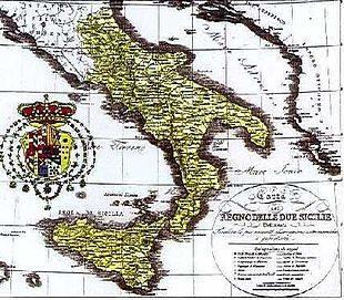 La politica economica del regno della Due Sicilie