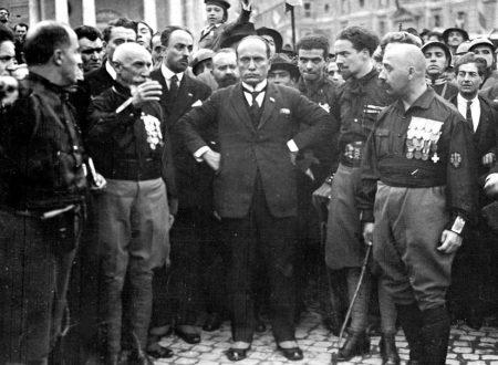 """Il """"discorso del bivacco"""" di Mussolini"""