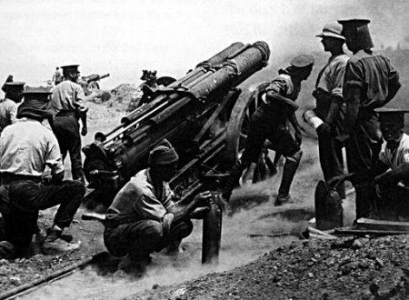 Armi e tecnologie alla vigilia della Grande Guerra