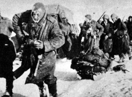 Mussolini invia l'ARMIR sul Fronte Orientale