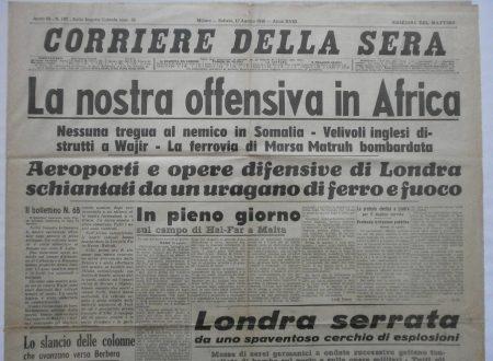 L'Italia invade la Somalia Britannica