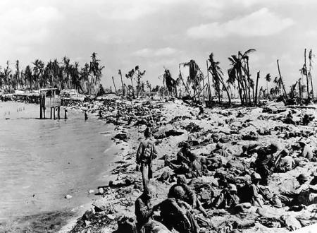 Seconda guerra mondiale: la battaglia di Tarawa