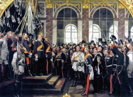 La proclamazione di Guglielmo I a Imperatore Tedesco